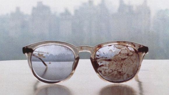 Las gafas que John Lennon llevaba cuando fue asesinado