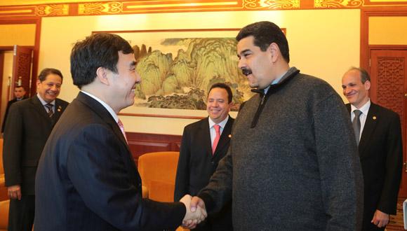 Maduro se reúne con directiva del Banco de Desarrollo de China 4