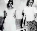 Melba y Haydée en la cárcel.