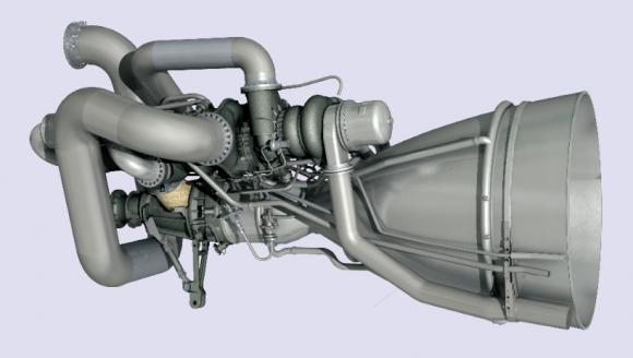 Motor NK-33(AJ-26 del Antares (Orbital).