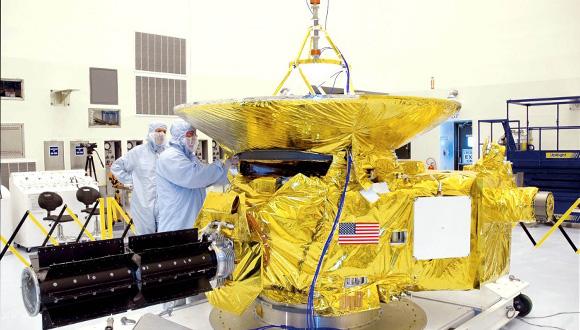 Sonda New Horizons. NASA. Foto: Wikimedia Group.