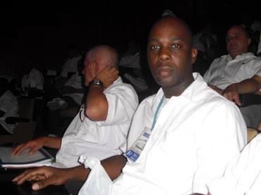 Reinaldo Villafranca Antigua era enfermero de la Brigada Médica Cubana que enfrenta la epidemia de ébola en Sierra Leona.