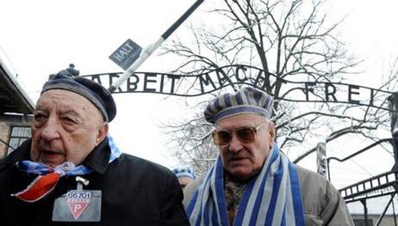 Sobrevivientes de Auschwitz recuerdan con gran emoción su liberación, de la que hoy se cumplen 70 años, con actos en Polonia. AFP