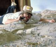 Spielberg haciendo la primera película de Indiana Jones en 1980