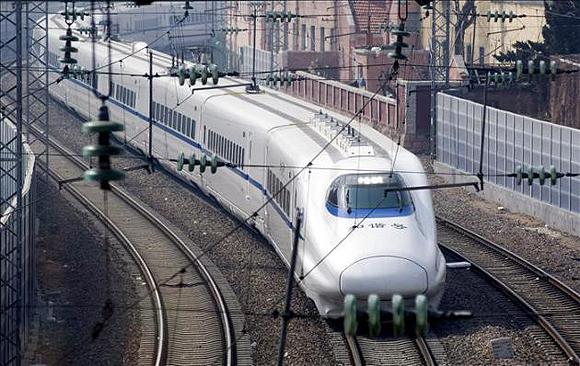 Tren de alta velocidad. Foto: EFE