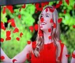 Vista del televisor curvo 4K SUHD TV de Samsung. Foto por: EFE/Michael Nelson.