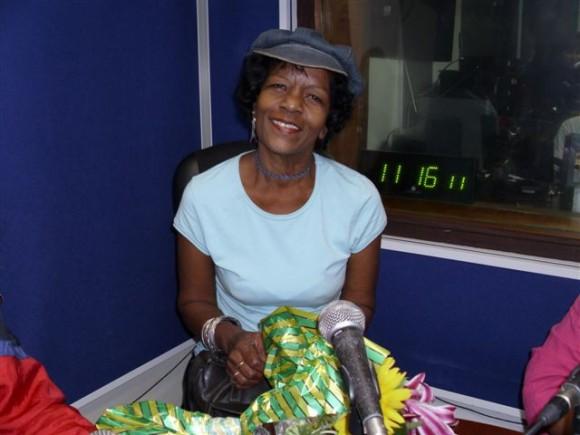 Aida Isalbe en una imagen del 2011. Foto: TV Cubana