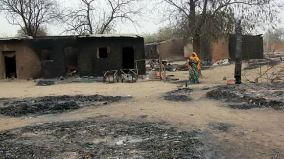 Días atrás, Boko Haram tomó control del poblado de Baga, forzando la huida de unas 20.000 personas.