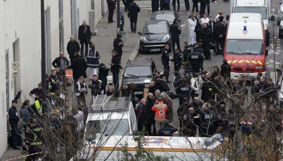 Identifican a los responsables del atentado contra la revista francesa Charlie Hebdo