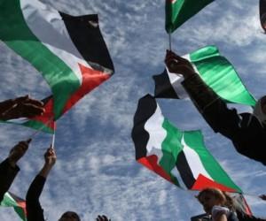 banderas palestinas