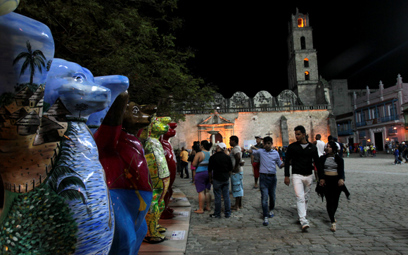 Buddy Bears en La Habana. Foto: Ladyrene Pérez/ Cubadebate.