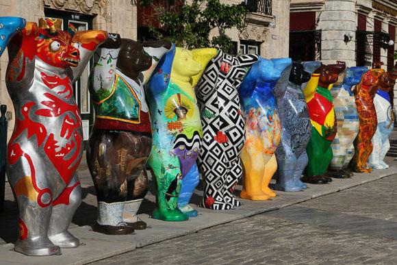 Los United Buddy Bears están promoviendo la tolerancia y la comprensión entre los pueblos. Foto: Ladyrene Pérez/ Cubadebate.