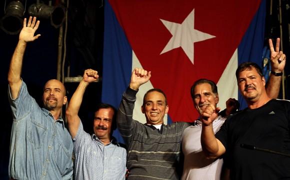 Los Cinco en casa. Foto: Ladyrene Pérez/ Cubadebate.