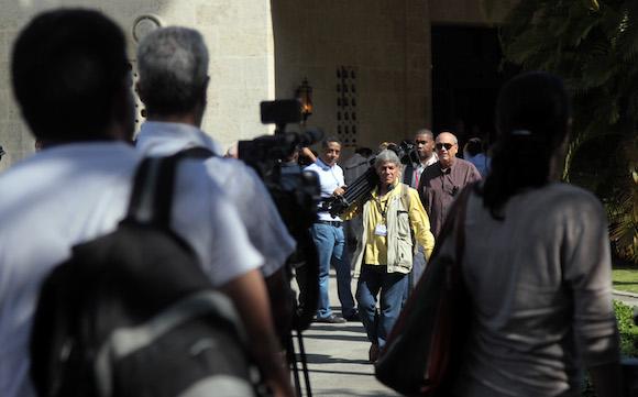 Roberta Jacobson, subsecretaria de Estado para Asuntos del Hemisferio Occidental, en conferencia de prensa en La Habana. Foto: Ladyrene Pérez/ Cubadebate