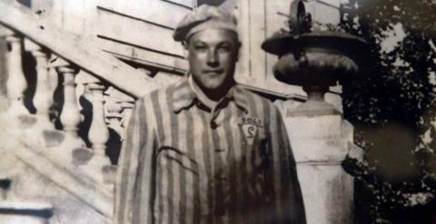 Esteban Pérez Pérez, bautizado con el número 5042 en Mauthausen. Foto: EFE
