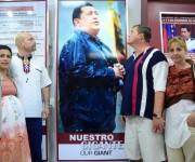 Héroes cubanos rinden tributo a Chávez