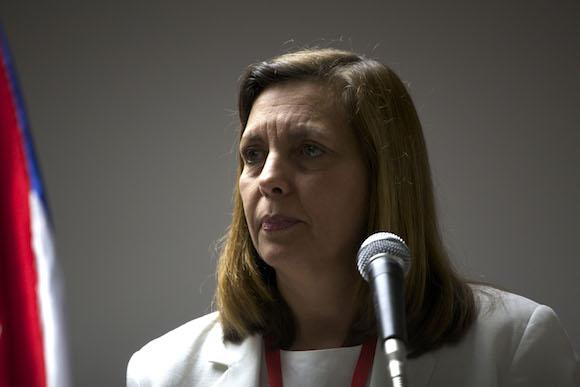 Josefina Vidal. Foto: AP