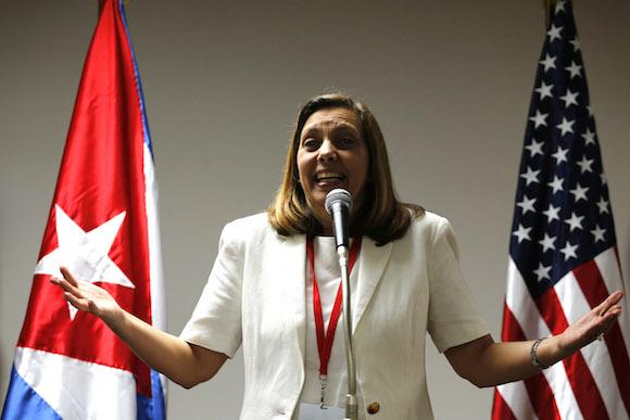 Josefina Vidal. Foto: Ramón Espinosa/ AP