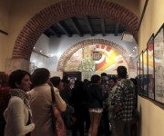 """Inauguración de la muestra de carteles y tatuajes """"El Dulce Dolor"""", en la galería La Marca. Foto: Ladyrene Pérez/ Cubadebate."""