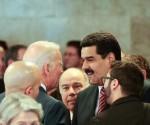 El presidente de la República Nicolás Maduro sostuvo un breve encuentro con el vicepresidente norteamericano Joe Biden en Brasil, durante la toma de posesión de la presidenta Dilma Rousseff. Foto: Prensa Presidencial Venezuela