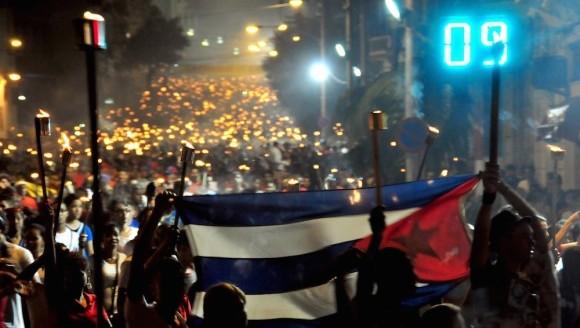 Este viernes, toda Cuba encenderá sus antorchas por Martí, Fidel y la Revolución