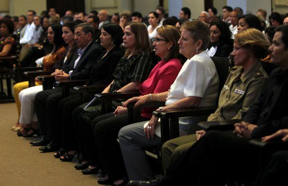 Acto de reconocimiento a las mejores tesis de doctorado del pasado año en el país. Foto: Ladyrene Pérez/ Cubadebate.
