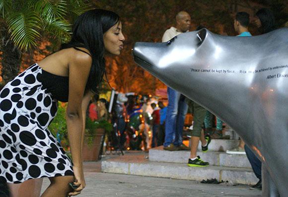 United Buddy Bears en La Habana. Foto: Denny Rodríguez Fajardo/Cubadebate.