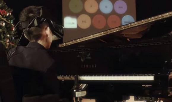 Crean en Japón dispositivo que permitirá tocar piano con la vista