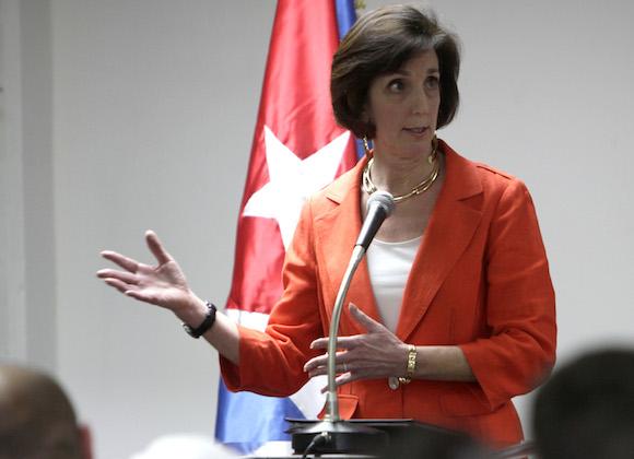 Roberta Jacobson, subsecretaria de Estado. Foto: Ismael Francisco/ Cubadebate