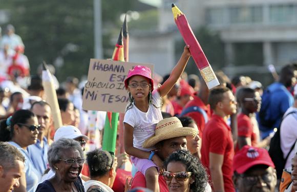 1ro de Mayo en La Habana. Foto: Ladyrene Pérez/Cubadebate.