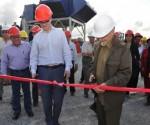 Inaugura Ramiro Valdés Menéndez la fase ocho del ciclo combinado en la Empresa Mixta Energas. Foto: Cristian Domínguez Herrera