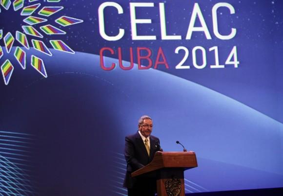 Raúl Castro deja inaugurada la Cumbre de la Celac. Foto: Ismael Francisco/Cubadebate.