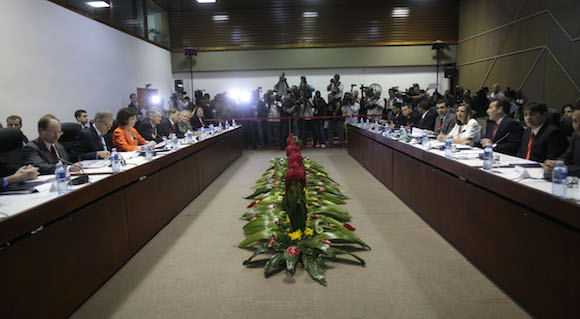 Reunión sobre asuntos bilaterales Cuba-EEUU. Foto: Ismael Francisco/ Cubadebate