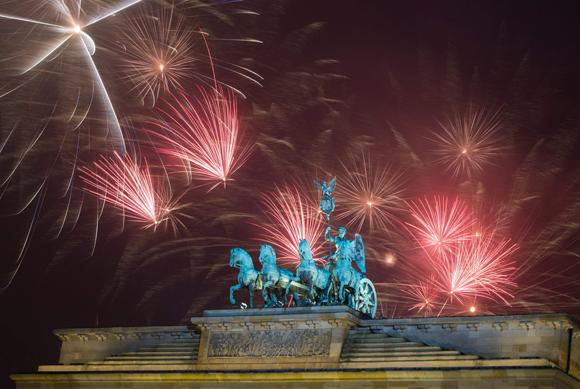 fuegos artificiales fin de año budapest