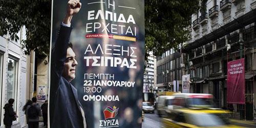 Las encuestan dan el triunfo a Syriza en las elecciones de Grecia.