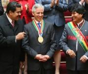 toma de posesión de Evo Morales 11