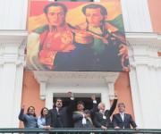 toma de posesión de Evo Morales 13