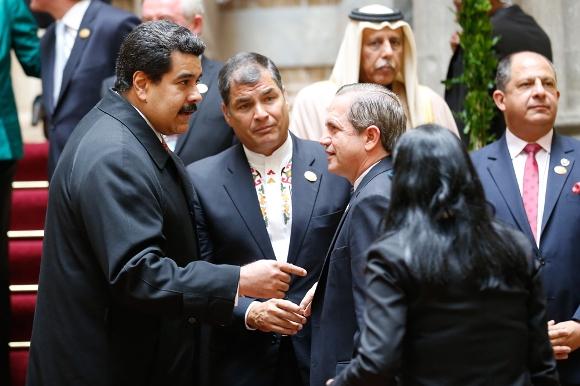 toma de posesión de Evo Morales 15