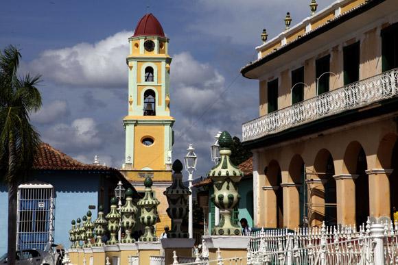 Convento de San Francisco, hoy en día es el Museo de la Lucha contra Bandidos, Trinidad, Cuba. Foto: Ismael Francisco/ Cubadebate.