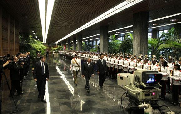 Visita del presidente chino Xi Jinping a Cuba. Foto: Ismael Francisco/Cubadebate.