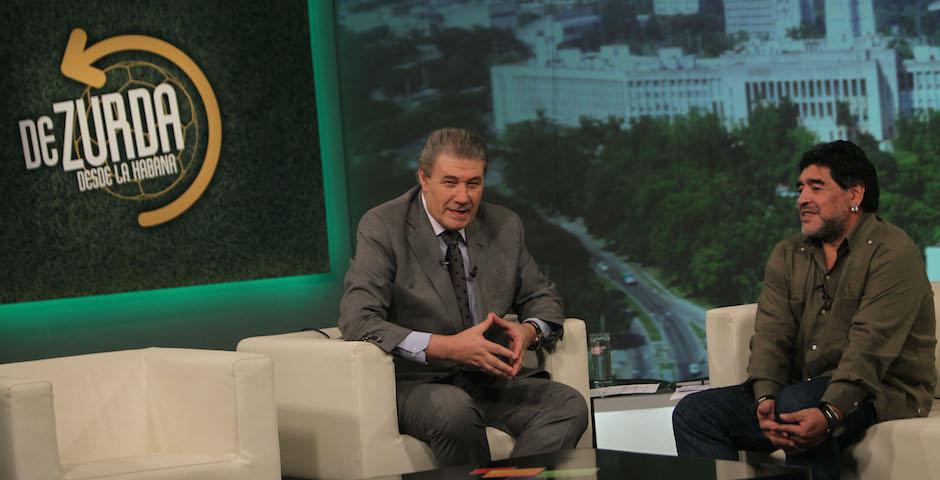 Morales e Maradona