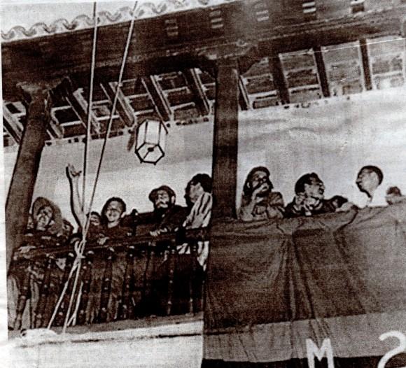 Discurso Fidel el 1 de enero 59 en Santiago de Cuba.