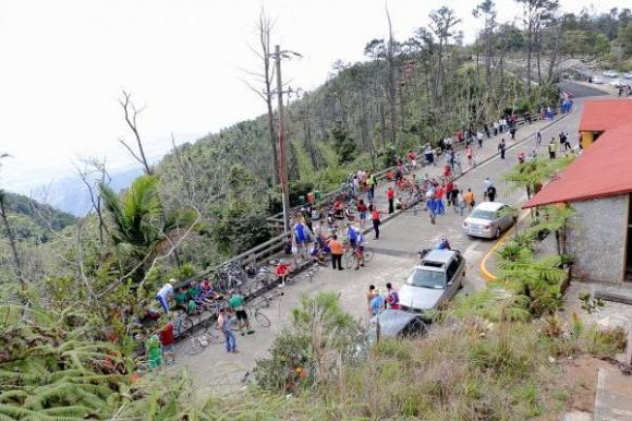 Subida a la Gran Piedra, segunda etapa del Clásico Ciclístico Nacional. Foto: Otmaro Rodríguez / Cubadebate