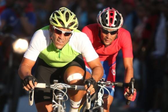 Jean Carlos Arias se llevó la etapa inicial del Clásico ciclístico Guantánamo-Habana. Foto: Otmaro Rodríguez