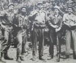 Fidel, Almeida, Raúl, Ramiro y Ciro.