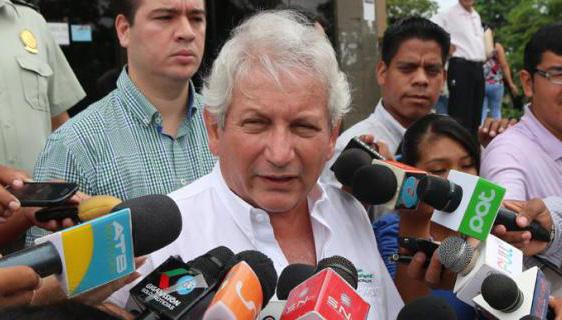 Rubén Costas, aspirante a gobernador por el departamento boliviano de Santa Cruz. Foto: Archivo.