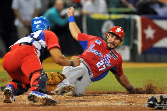 Serie del Caribe 2015 CUB-PR. Gana Cuba 3 x 2.  Foto: Ricardo López Hevia / Enviado de Granma / Cubadebate
