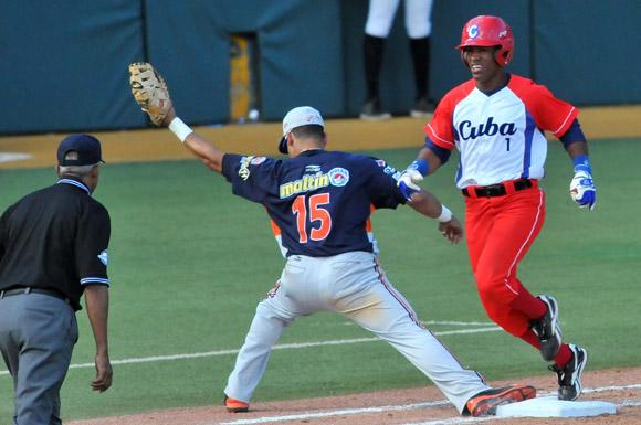 Foto: Serie del Caribe- 2015 Cuba versus Venezuela. Foto: Ricardo López, enviado especial.