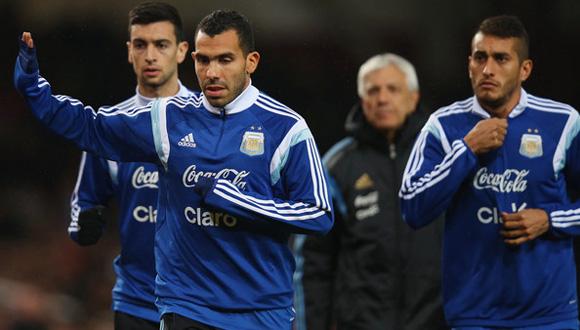 Carlos+Tevez+Argentina+v+Croatia