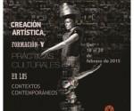 Cartel de la XVII  Conferencia Científica de la Universidad de las Artes